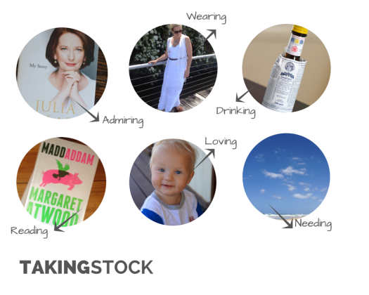 Taking Stock - Image by Robyna