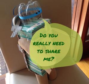 Do you really need to share me?