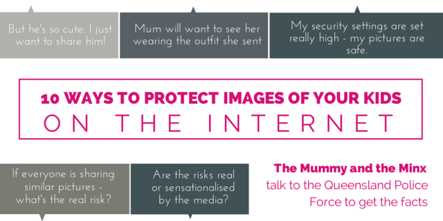 10 Ways to protect images of your kids on the internet