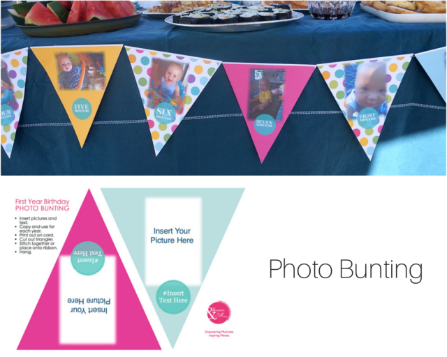 The Mummy and the Minx: Photo Bunting